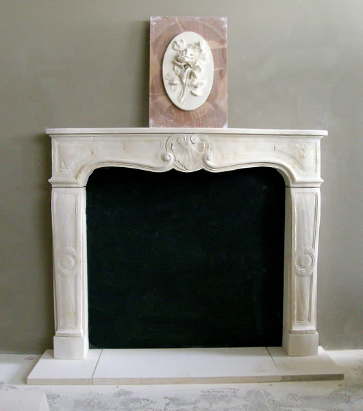 Fireplace mantel designs, Neo-Gothic, Victorian, Louis XV, Colonial...