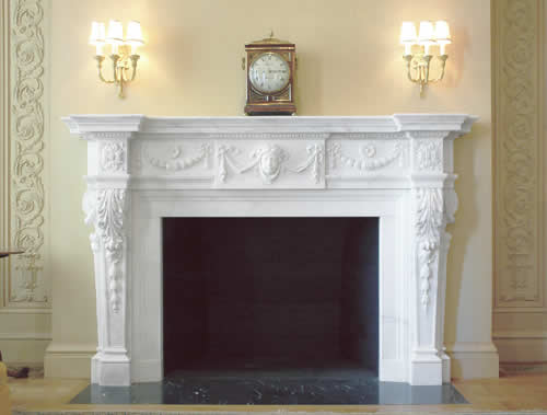 istoric fireplace mantels. A collection of fireplaces mantels carved during the late 18th and 19th century. Examples of great stone fireplaces carved in marble.