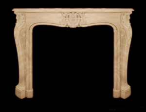louis XVI fireplace design