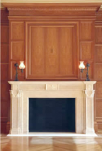 Chiampi Marble Fireplace